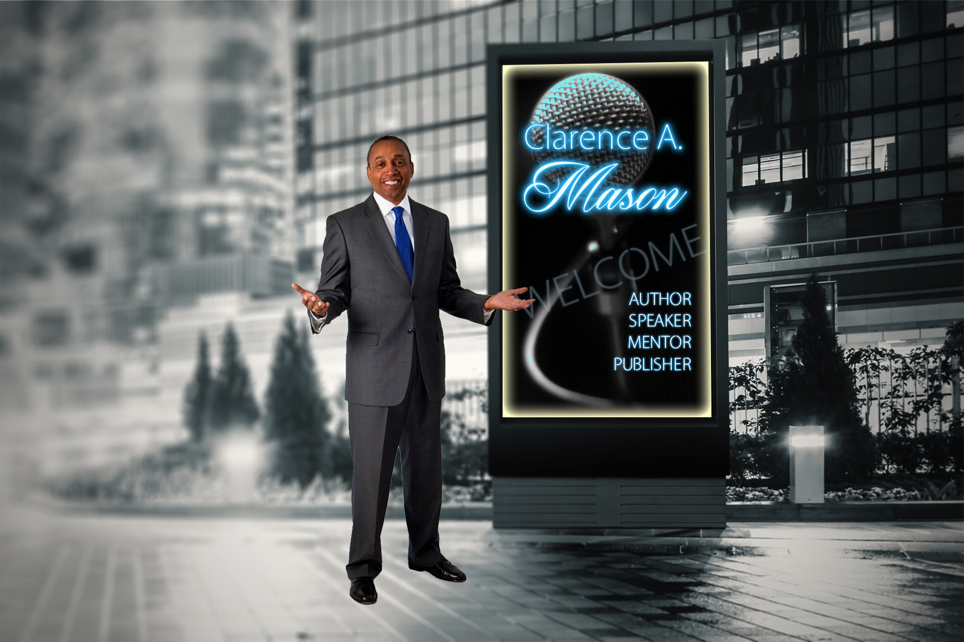 Clarence A Mason, book him for an event